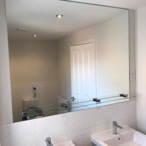 Bathroom Glass Mirror