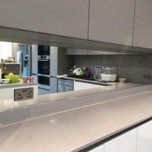 Kitchen Mirror Splashback