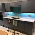 splashback after installation
