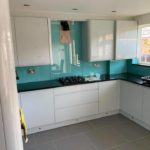 full kitchen view of splashback