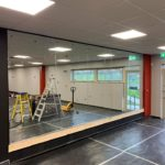 mirrors installed in Burton