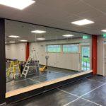 mirrors installed in Burton